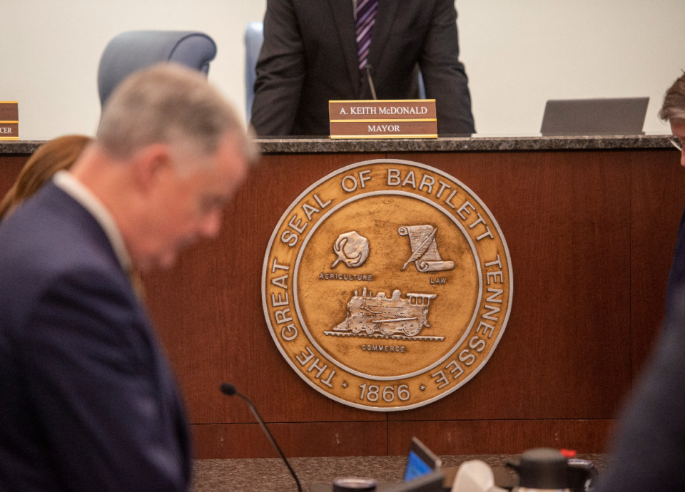 <strong>Bartlett aldermen voted in favor of a $180.9 million operating budget for the fiscal year 2022 on first reading at its meeting Tuesday, May 11.</strong> (Greg Campbell/Special to The Daily Memphian file)