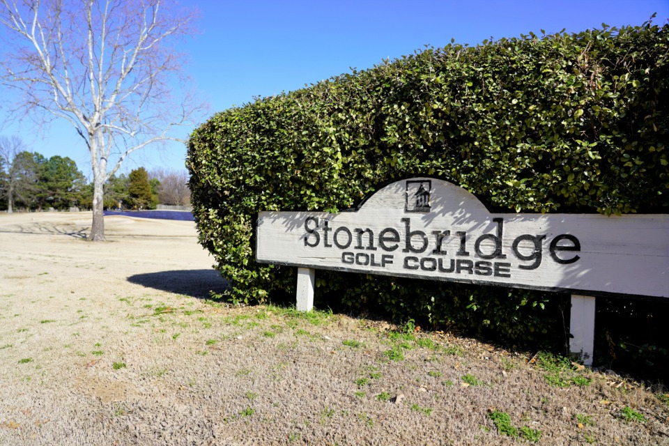 <strong>Stonebridge Golf Course may be sold at auction on Feb. 14.</strong> (Tom Bailey/Daily Memphian)