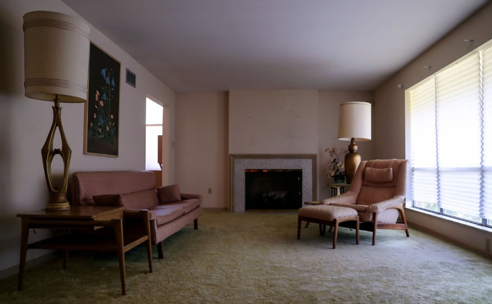 <strong>The one-owner East Memphis home, designed by architect Robert Lee Hall and built in 1963, has been carefully maintained with much of the original furniture.</strong>&nbsp;(Patrick Lantrip/Daily Memphian)