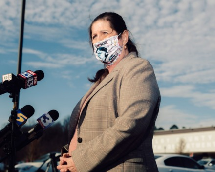 <strong>Alisa Haushalter (in a file photo) former director of the Shelby County Health Department, spoke to reporters during a press conference at the Pipkin Building.</strong>&nbsp;(Houston Cofield/Special To The Daily Memphian)