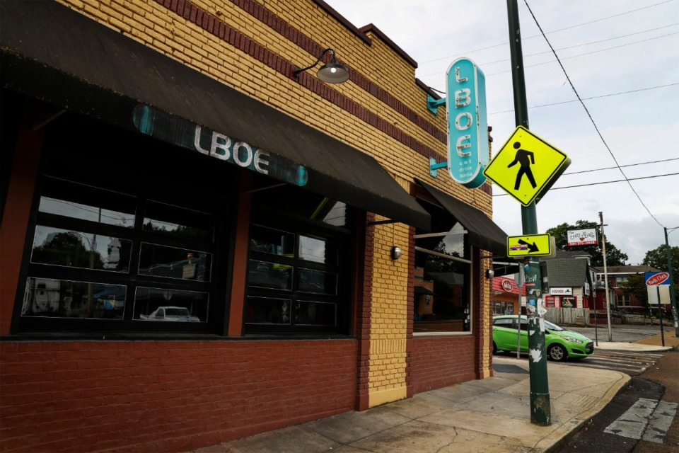 <strong>LBOE burger restaurant on Madison Ave. will be closing and rebranded as a TJ Mulligan&rsquo;s.</strong> (Mark Weber/The Daily Memphian)