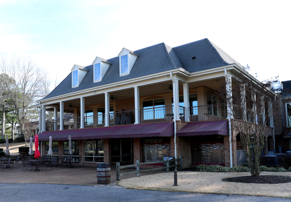 <strong>The Germantown Country Club is under new management with possible development plans for the golf course which may include a new neighborhood community.</strong> (Houston Cofield/Daily Memphian)