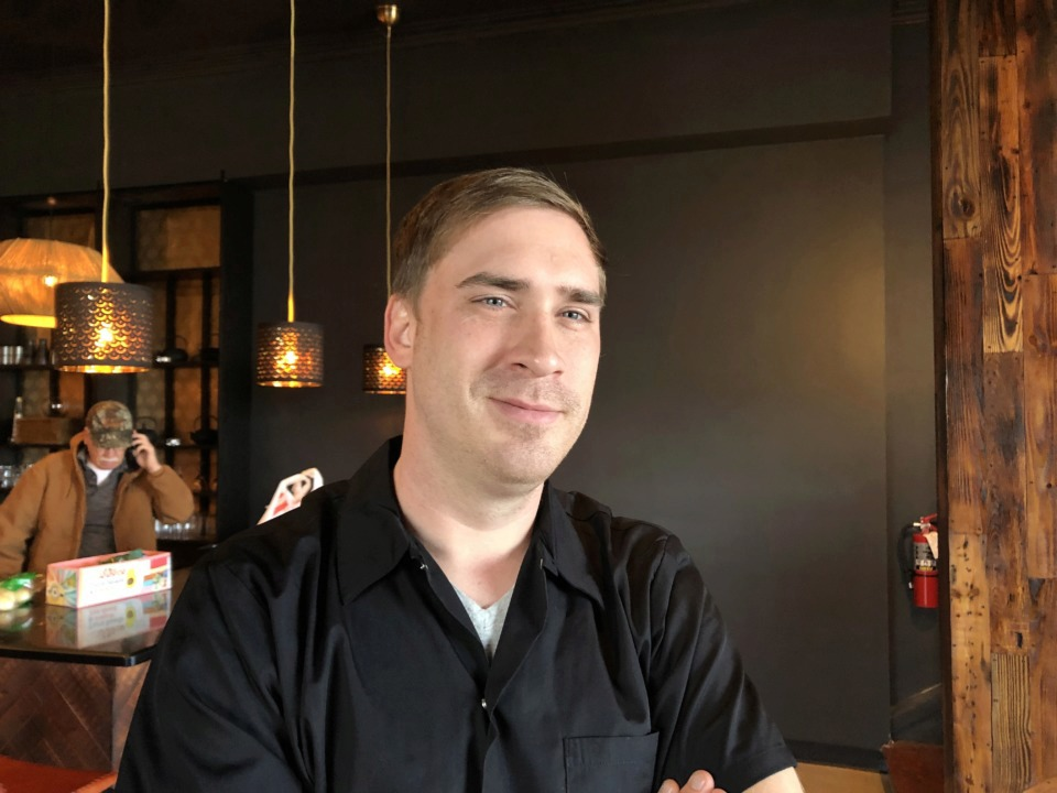 "<strong>Lucky Cat Ramen owner Zach Nicholson says Friday's opening on Broad Avenue is a homecoming of sorts. ""It really is home for us, we have friends here. This is kind of where we started building our following."" </strong>(Jennifer Biggs/Daily Memphian)"