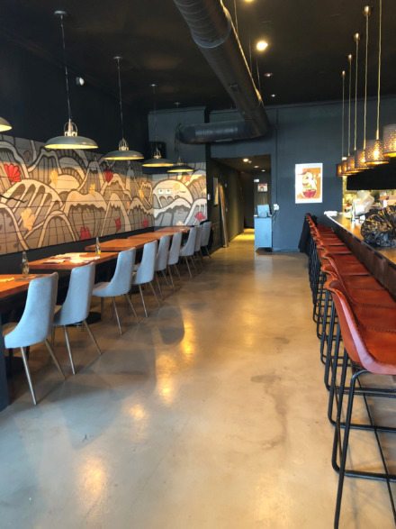 <strong>Lucky Cat Ramen's revamped restaurant space on Broad will seat about 60 people.</strong><span>(Jennifer Biggs/Daily Memphian)</span>