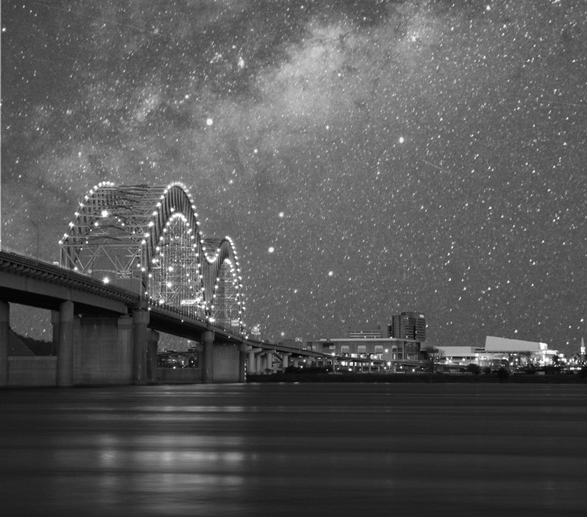 """<strong>""""Stars Over Memphis"""" won first place in the photography category in Memphis International Airport's """"Arts in the Airport"""" contest. The photo was taken by Andrew Cunningham, a junior at Bartlett High School..</strong>"""