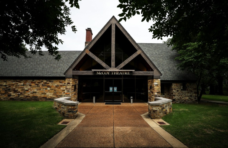 <strong>Rhodes College&rsquo;s McCoy Theatre as seen on May 19, 2021.</strong> (Patrick Lantrip/Daily Memphian)