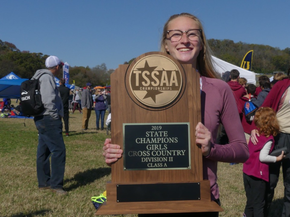 <strong>Allison Newman is competing in both the 800 and 1,600,&nbsp;as she attempts to add to the cross-country state title she won as a junior in 2019.</strong> (Courtesy Deonna Newman)