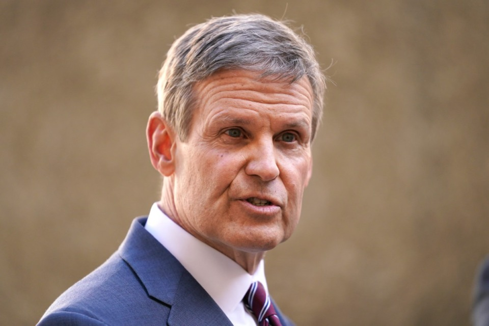 <strong>Tennessee Gov. Bill Lee signed into law on May 24, 2021 a bill banning the teaching of critical race theory and the history of racism in America in state public schools.&nbsp;</strong>(AP Photo/Mark Humphrey, file)
