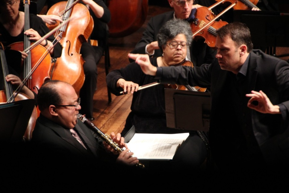 <strong>Robert Moody conducts the Memphis Symphony Orchestra.</strong> (The Daily Memphian file)