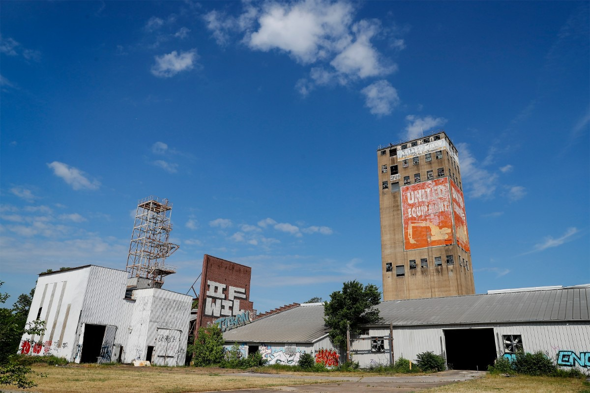 <strong>Unapologetic and Tone are teaming up to redevelop the former United Equipment Building and several surrounding acres into Orange Mound Tower</strong>. (Mark Weber/The Daily Memphian)