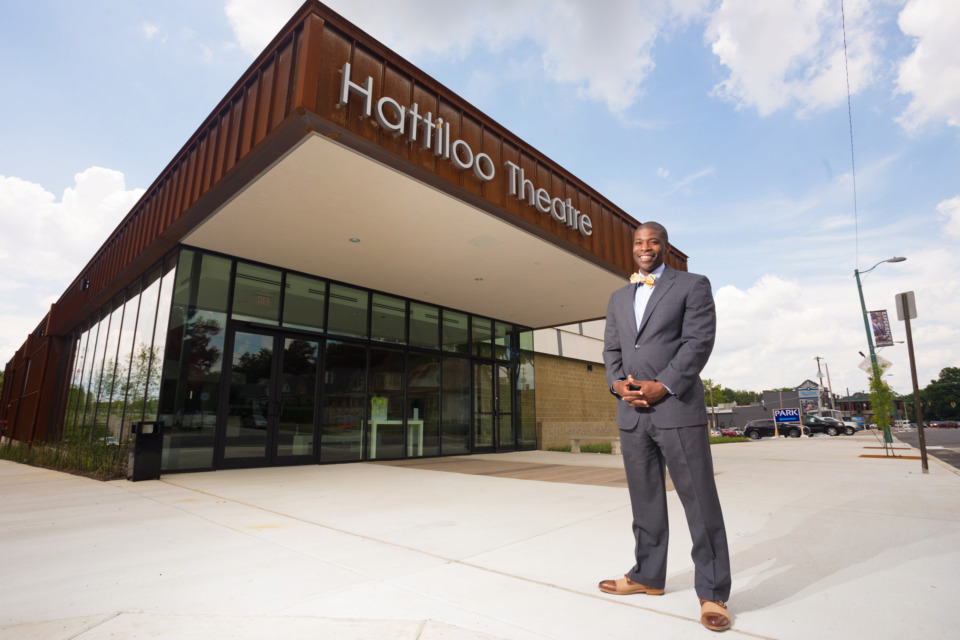 <strong>Hattiloo Theatre is commemorating 400 years of African-American history with a free event series called &ldquo;Lest We Forget.&rdquo; Ekundayo Bandele is founder and executive director of Hattiloo.</strong> (Daily Memphian file)