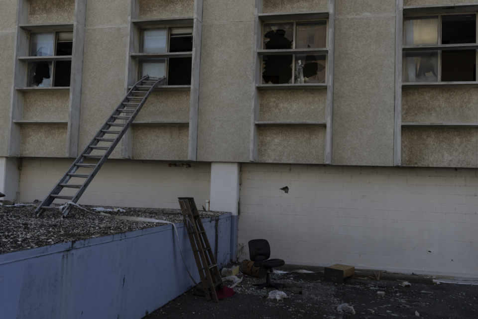 <strong>Urban &ldquo;explorers,&rdquo; copper thieves and vandals have found various ways to enter the vacant 100 North Main building.</strong>&nbsp;(Brad Vest/Special to the Daily Memphian)
