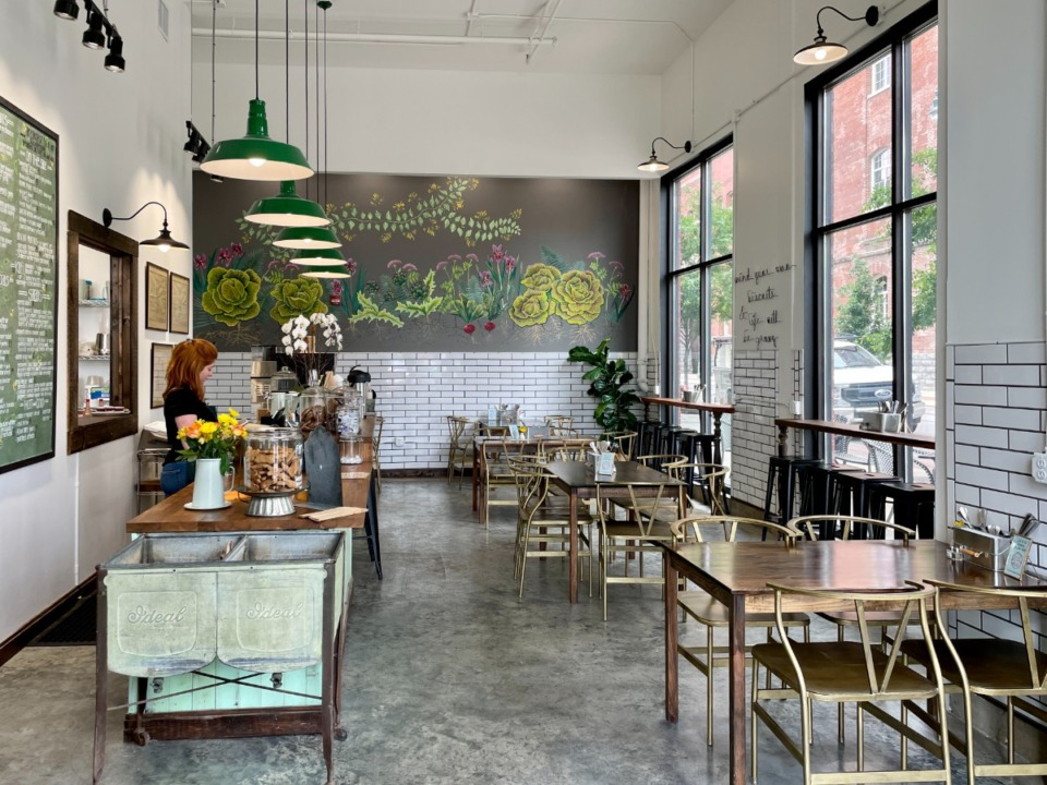 <strong>By the Brewery has a clean urban look and is also welcoming and comfortable.</strong> (Jennifer Biggs/Daily Memphian)