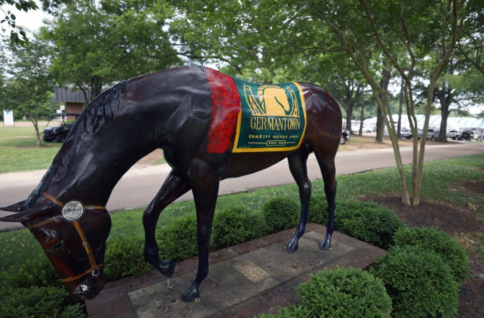<strong>The annual Germantown Charity Horse is returning to the suburb.</strong> (Patrick Lantrip/Daily Memphian file)