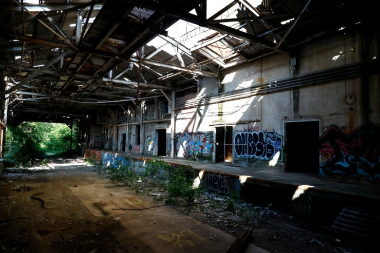 Unapologetic and Tone are teaming up to redevelop the former United Equipment Building and its surrounding site into Orange Mound Tower. (Mark Weber/The Daily Memphian)