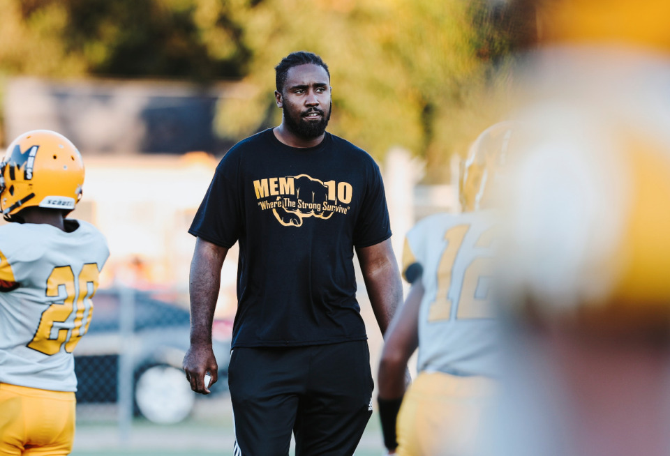 <strong>Christian Johnson, a former University of Memphis football player, is the owner of 901Phenom, a local 7-on-7 organization.</strong> (Daily Memphian file)<strong><br /></strong>