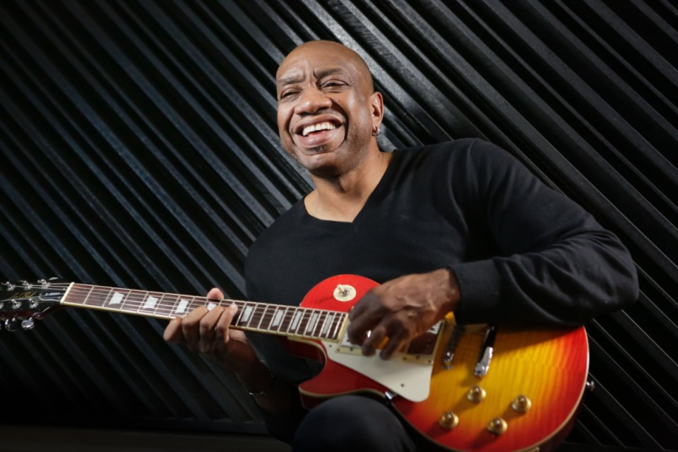 <strong>Otis Redding III, son of the legendary Stax musician, will perform at the Halloran Centre on Aug. 7.</strong> (Courtesy Orpheum Theatre Group)