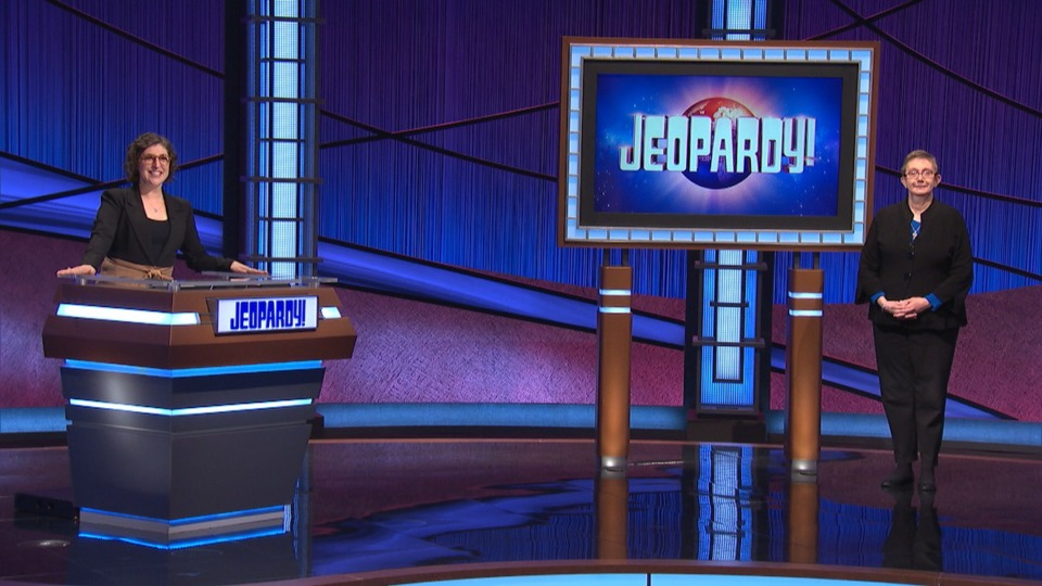 <strong>Verlinda Henning (right) got a call from &ldquo;Jeopardy!&rdquo; last February asking if she would like to film an episode in March. Henning said yes immediately, and she is now a&nbsp;&ldquo;Jeopardy!&rdquo; champion.&nbsp;</strong>(Submitted)