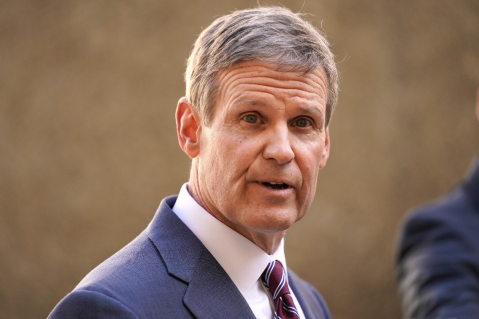 <strong>Tennessee Gov. Bill Lee is ordering more aggressive marketing and pushing a $52 million infrastructure investment in the Memphis Regional Megasite</strong>. (AP File Photo/Mark Humphrey)