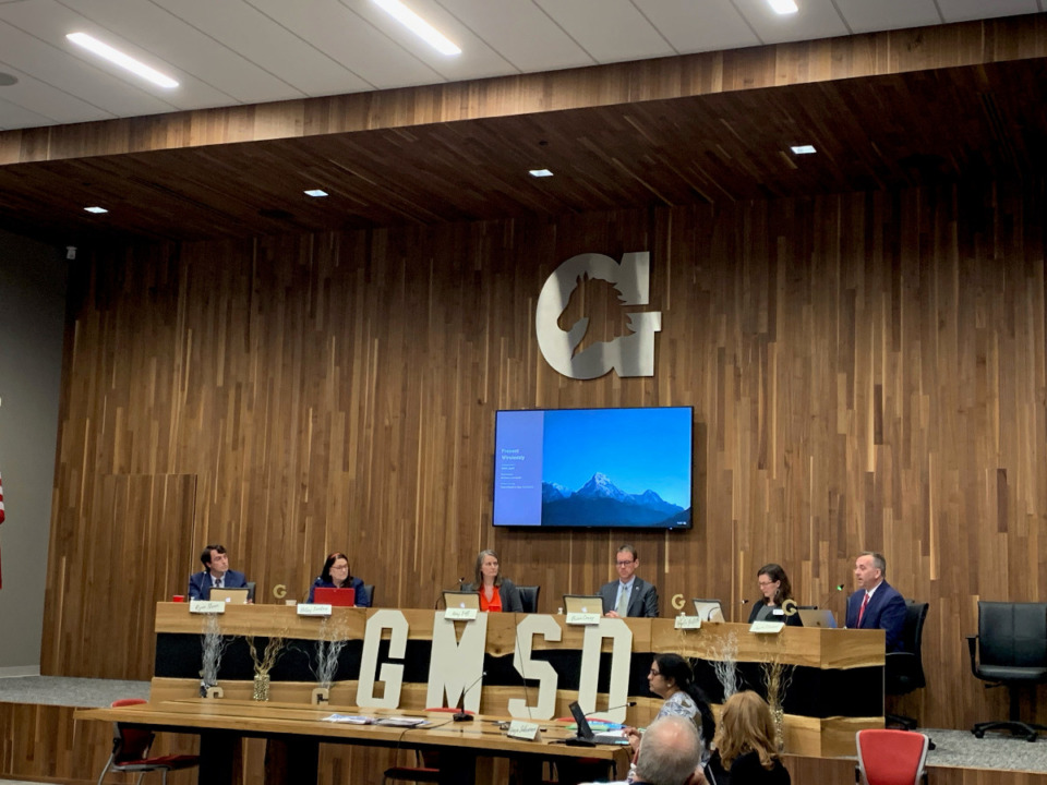 <strong>The Germantown Board of Education met Tuesday, June 8, and discussed adding a student in an advisory non-voting role.</strong> (Abigail Warren/Daily Memphian)