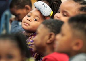 <strong>Pre-k children participate in a lesson at Porter-Leath's Douglas Head Start School.</strong> (Jim Weber/Daily Memphian file)
