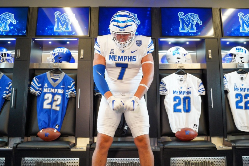 <strong>&ldquo;From the moment Memphis first offered me, they were one of my top schools,&rdquo; James Quinnelly said.</strong> (Submitted photo)