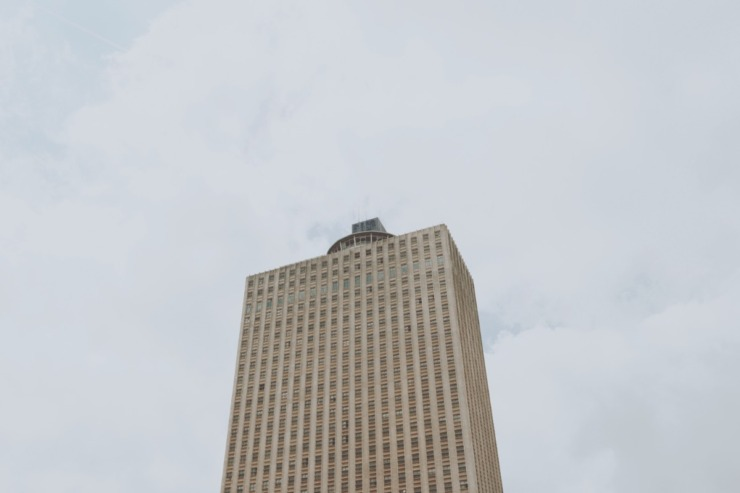 The Downtown Memphis Commission on Tuesday, June 15 launched a high-stakes effort to revive Memphis' tallest building and the entire block beneath it. (Daily Memphian file)