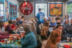 """<strong>The Daily Memphian """"Destination:Delicious"""" event stopped for lunch at Elwood's Shells at 916 Cooper on Friday, January 25. The restaurant has passed its final inspection and will open to the public on Monday, Feb. 4, 2019.</strong> (Jason R. Terrell/Daily Memphian)"""