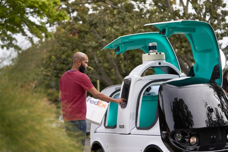 <strong>FedEx and Nuro announce a multi-year, multi-phase agreement to test Nuro&rsquo;s next-generation autonomous delivery vehicle within FedEx operations.</strong>&nbsp;(Credit: Business Wire)