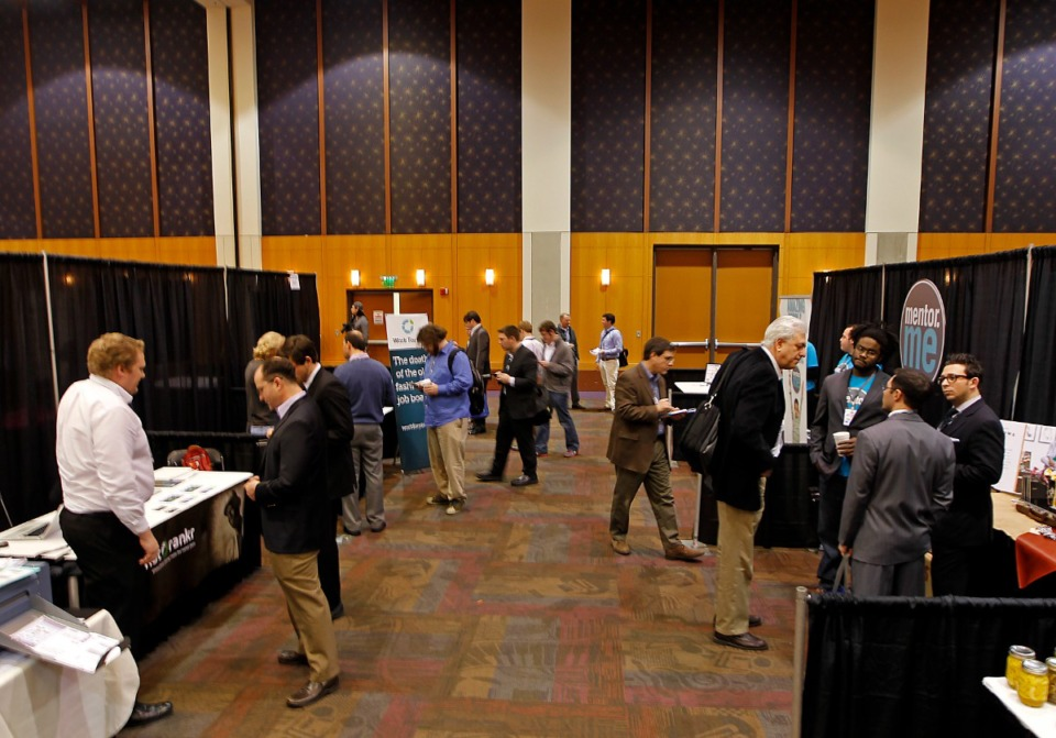 <strong>Conferences and business gatherings have been slow to return to pre-pandemic numbers, travel and lodging experts say.</strong> (Lance Murphey/Daily Memphian file)