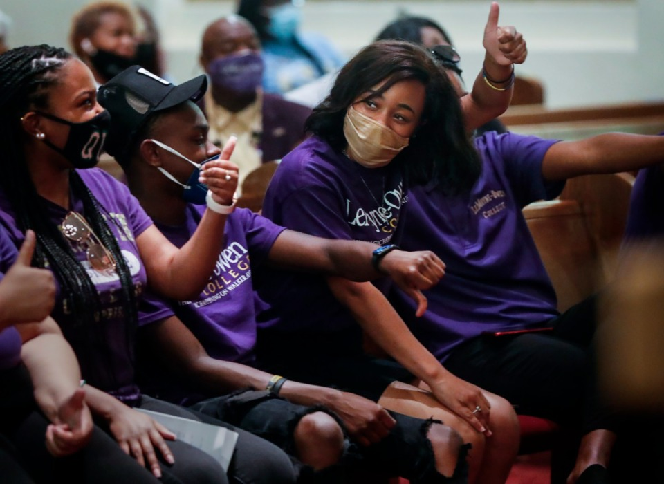 <strong>LeMoyne-Owen College students are back on campus for the first time since the pandemic began for Spotlight Day on Friday, June 18</strong>. (Mark Weber/Daily Memphian)