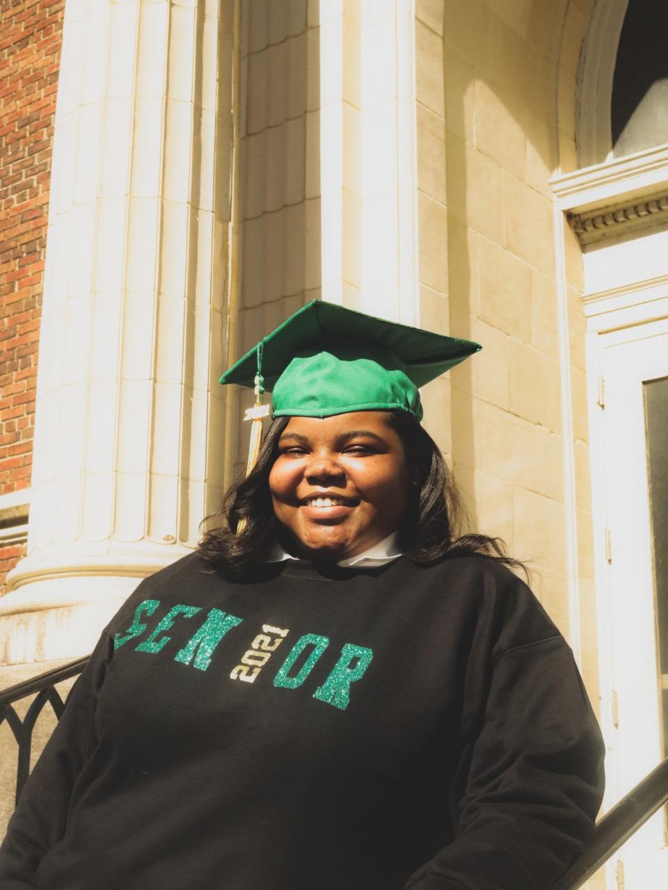 <strong>Carmen Conley is a 2021 graduate of Central High School.</strong> (Courtesy Carmen Conley)