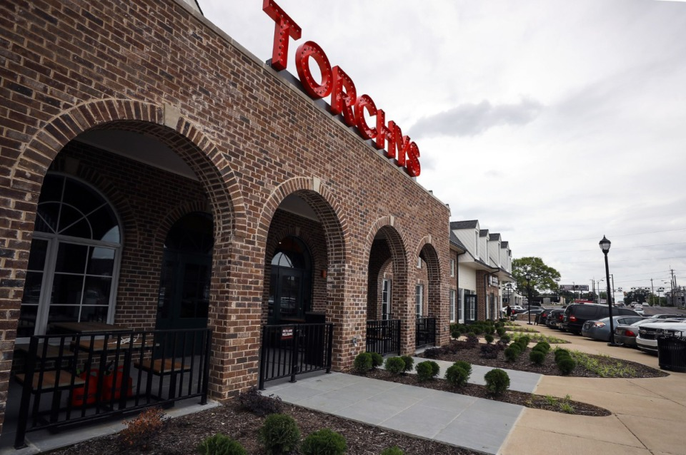 <strong>Torchy's Memphis location will open Thursday, June 24.&nbsp;The craft casual restaurant has the last bay in Williamsburg Village Shopping Center, where Bogie&rsquo;s Deli was for years.</strong> (Patrick Lantrip/Daily Memphian)