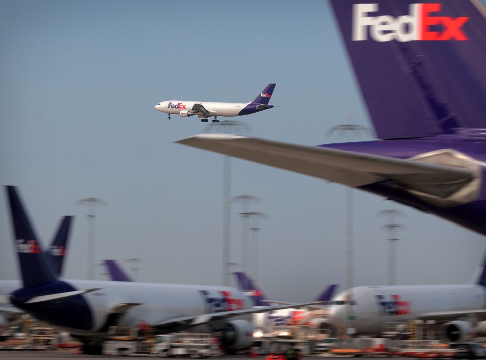 <strong>Memphis-based FedEx Corp. reported fiscal fourth-quarter net income of $1.87 billion, after reporting a loss in the same period a year earlier.</strong> (Jim Weber/Daily Memphian file)
