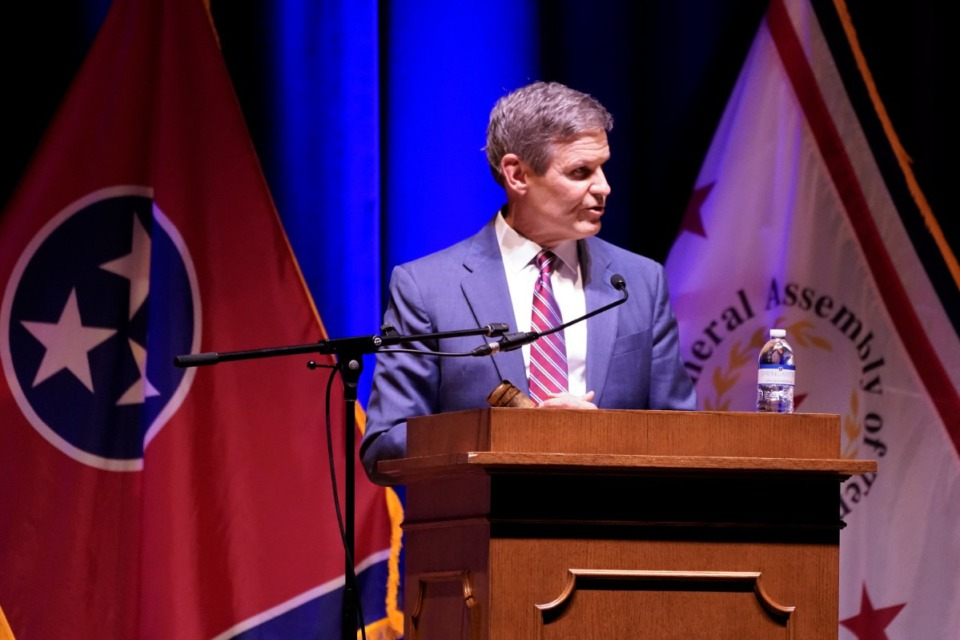 <strong>&ldquo;There&rsquo;s a lot yet undecided about the finality of&rdquo; the infrastructure bill, said Tennessee Gov. Bill Lee, seen here in January.</strong> (AP file)