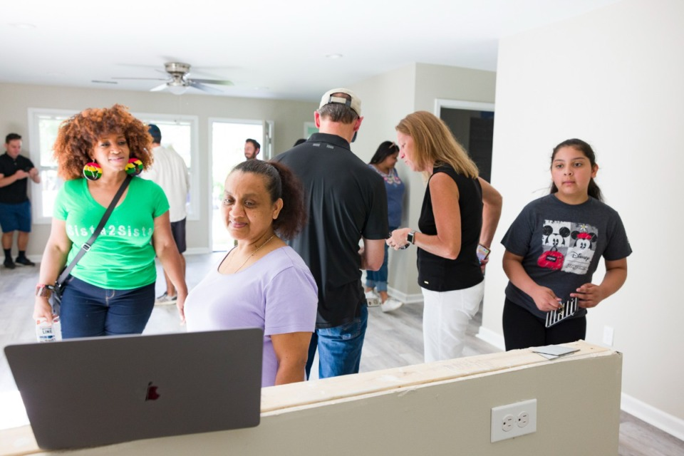 <strong>Binghampton Community Land Trust hosts an open house Saturday, June 26 at the nearly completed house home on Oxford Avenue.</strong> (Ziggy Mack/Special to Daily Memphian)