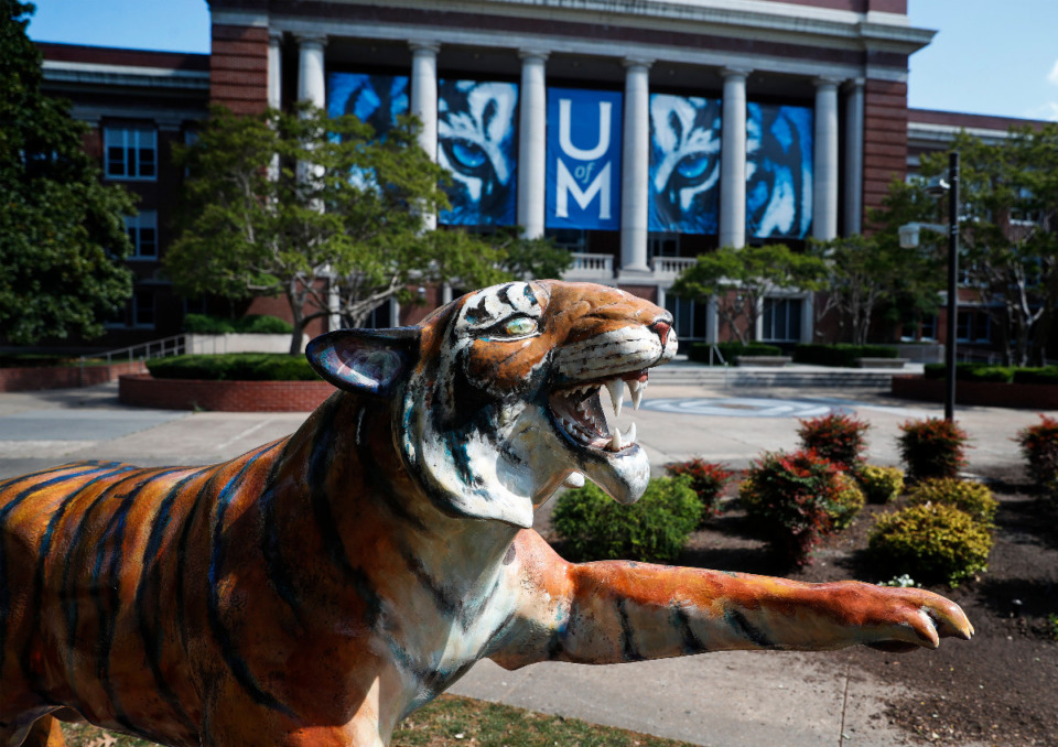 <strong>The University of Memphis has taken the biggest hit among local colleges due to the pandemic.&nbsp; Money lost, on everything from&nbsp; slowed revenue streams to unexpected expenses for testing and safety protocols is &ldquo;probably in the ballpark of $55 million to $58 million, and that doesn&rsquo;t include students that ultimately ended up withdrawing,&rdquo; U of M President M. David Rudd said.</strong> (Mark Weber/The Daily Memphian file)