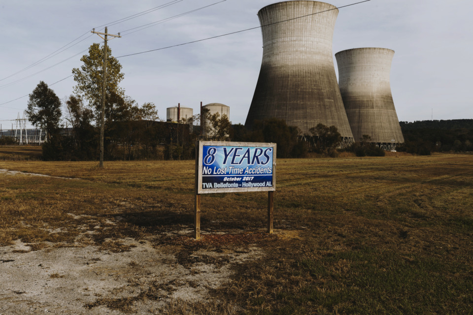 <strong>The study by Marietta, Georgia-based engineering and consulting firm is part of an exploration of a plan by Nuclear Development LLC to buy TVA&rsquo;s Bellefonte nuclear power plant in Hollywood, Alabama, and generate electricity that would be sold to MLGW.</strong>&nbsp;(Houston Cofield/Daily Memphian)