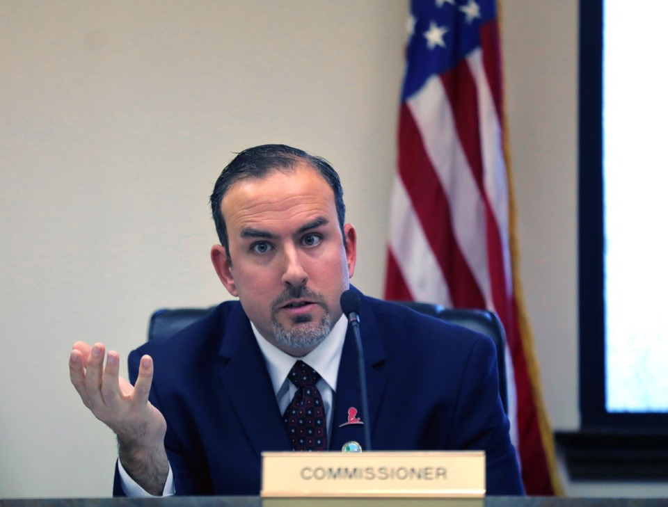 <strong>Commissioner Wesley Wright (in a file photo) previously opposed the Heathfield on Scott&rsquo;s Creek project but voted &ldquo;a calculated yes&rdquo; at the board&rsquo;s July 8 meeting.</strong> (Patrick Lantrip/Daily Memphian)