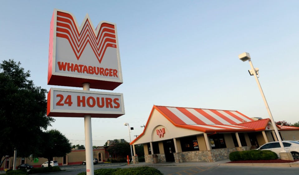<strong>Whataburger, founded more than 70 years ago, has more than&nbsp;850 locations across 10 states, operating 24/7, 364 days a year. The company just announced locations for five restaurants that are to open in the Memphis area next year and in 2023.</strong> (AP Photo/Eric Gay)