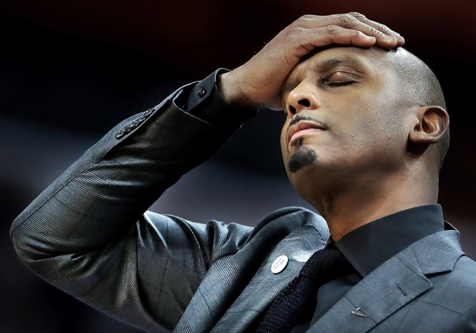 <strong>University of Memphis head basketball coach Penny Hardaway&nbsp;</strong> (Jim Weber/Daily Memphian file)