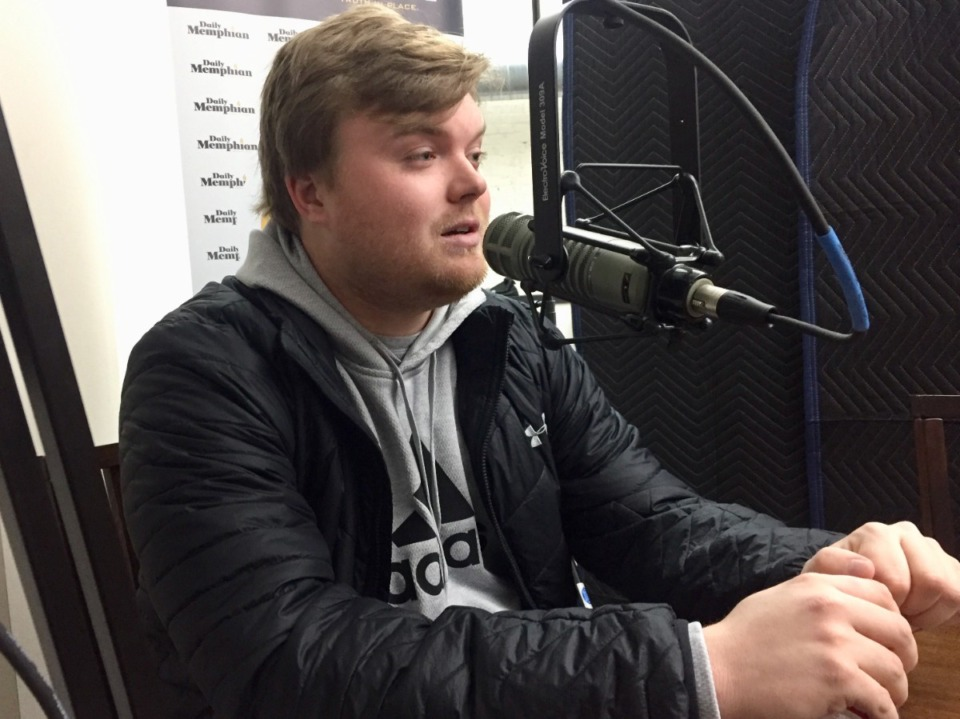<strong>Drew Hill, seen here in 2020, is the Daily Memphian beat writer for the Memphis Grizzlies.</strong> (Daily Memphian file)