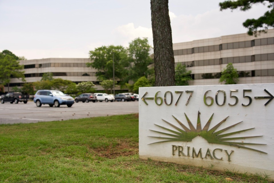 <strong>Sylvamo Corp. plans to spend $14.5 million renovating, furnishing and equipping the Primacy I office building at 6077 Primacy Parkway in East Memphis.</strong> (Tom Bailey/Daily Memphian)