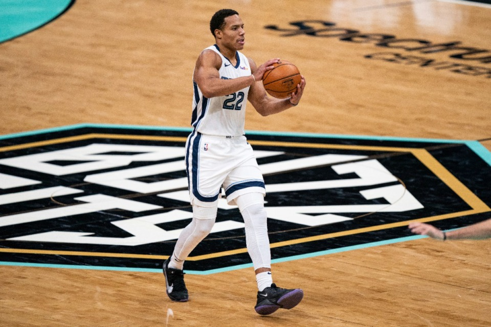 <strong>Participants in the Summer League could include&nbsp;Grizzlies guard Desmond Bane.</strong> (Jacob Kupferman/AP file)