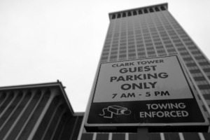 <strong>The Clark Tower in East Memphis, which recently underwent a $9 million interior upgrade, has been sold.</strong> (Patrick Lantrip/Daily Memphian)