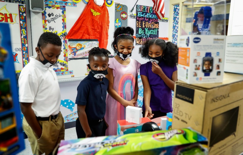 <strong>Shelby County Schools, which includes Robert R. Church Elementary School (pictured) has released guidelines on how it plans to reopen safely with COVID-19 cases rising.</strong> (Mark Weber/The Daily Memphian)