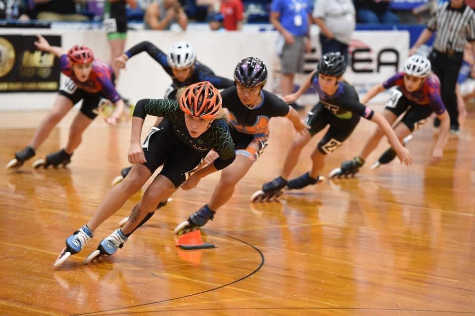 Patience, skill leads Houston athlete to success at inline skating nationals