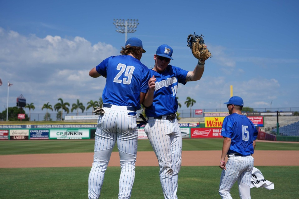 <strong>The University of Memphis Tigers celebrate&nbsp;in Clearwater, Florida, aft  beating top-seeded East Carolina, 11-1, successful  7  innings astatine  the AAC Championship tourney  May 25. Soon they&rsquo;ll beryllium  celbrating a caller   location  field.</strong> (Submitted)&nbsp;