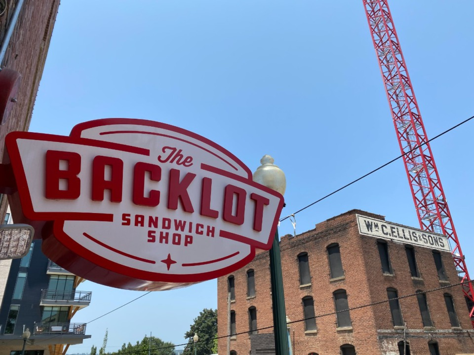 <strong>The Backlot Sandwich Shop has added flavor to a bustling, building stretch of South Front Street.</strong> (Chris Herrington/The Daily Memphian)