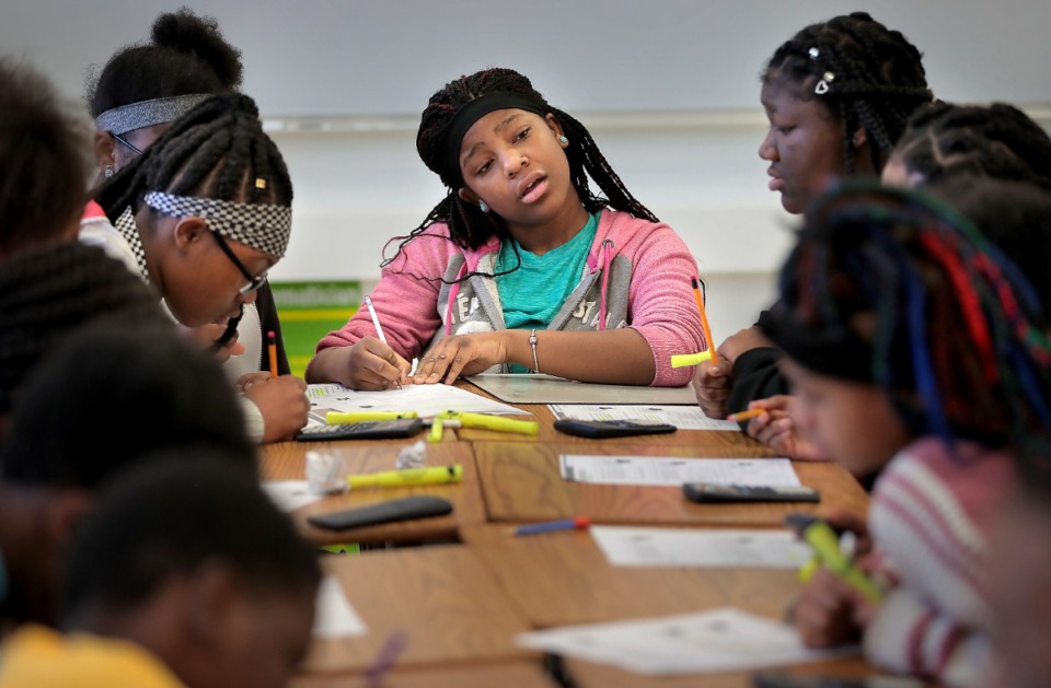 <strong>The anti-racism initiative at Frayser Community Schools includes Westside Middle School, seen here in 2020.</strong> (Daily Memphian file)